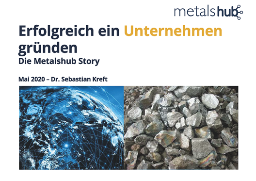 Digital guest lecture by the Düsseldorf company founder Dr. Sebastian Kreft on 28.05.2020